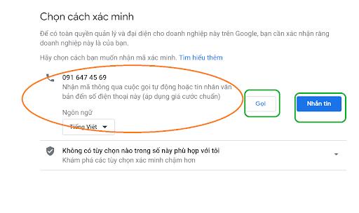 xác minh doanh nghiệp trên google map tại Hải Phòng
